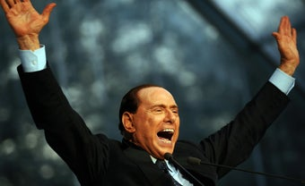 """Illustration for article titled Berlusconi Refers To Obamas As """"Tanned"""" Again"""