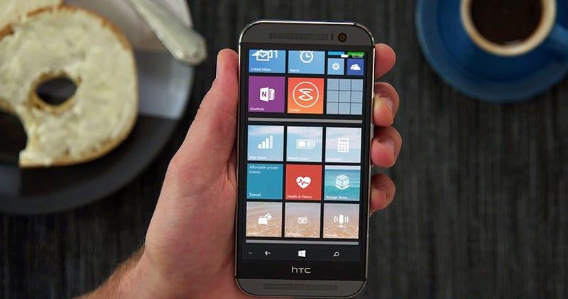 Illustration for article titled Confirmado: el HTC One M8 tendrá también una versión con Windows Phone
