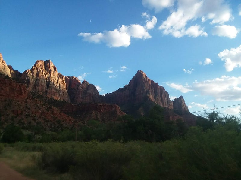 Illustration for article titled Zion National Park is what America is about.