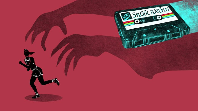 Illustration for article titled A Playlist for Running (Away From Your Problems)