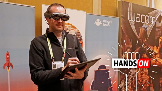 Wacom Showed Me the First Good Reason to Buy the Magic Leap Hype