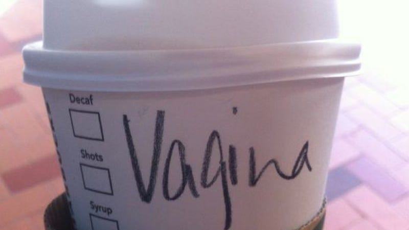 "Illustration for article titled Woman Gets Upset After Starbucks Writes ""Vagina"" Instead of ""Virginia"""