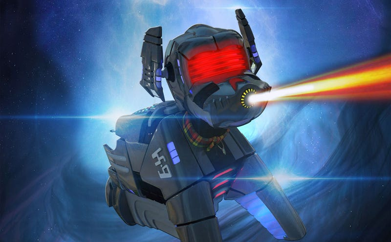 Illustration for article titled Doctor Who's Robot Dog, K9, Is Getting His Own Movie!
