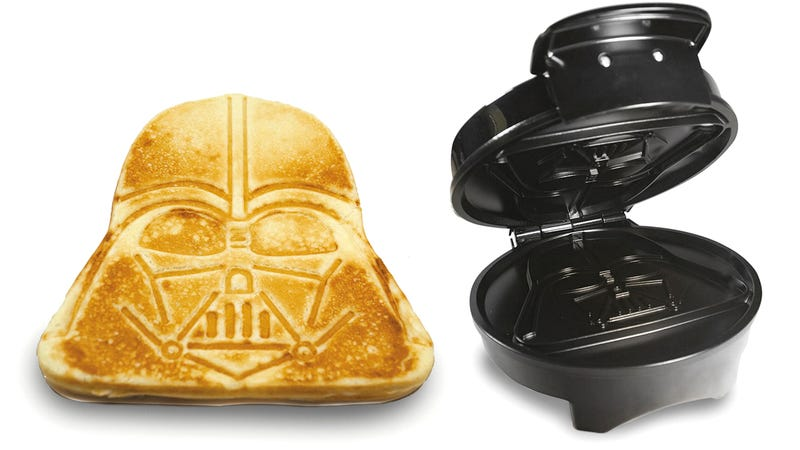 Illustration for article titled Up Your Breakfast Game With a Darth Vader Pancake Maker