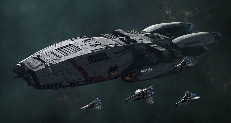Illustration for article titled We Finally Got A Good Battlestar Galactica Game