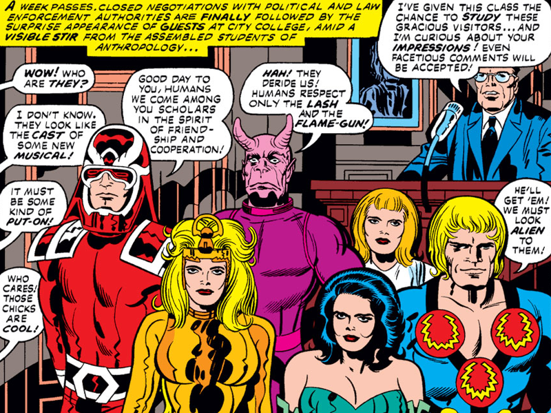 Everything You Need to Know About the Eternals, MCU's Future