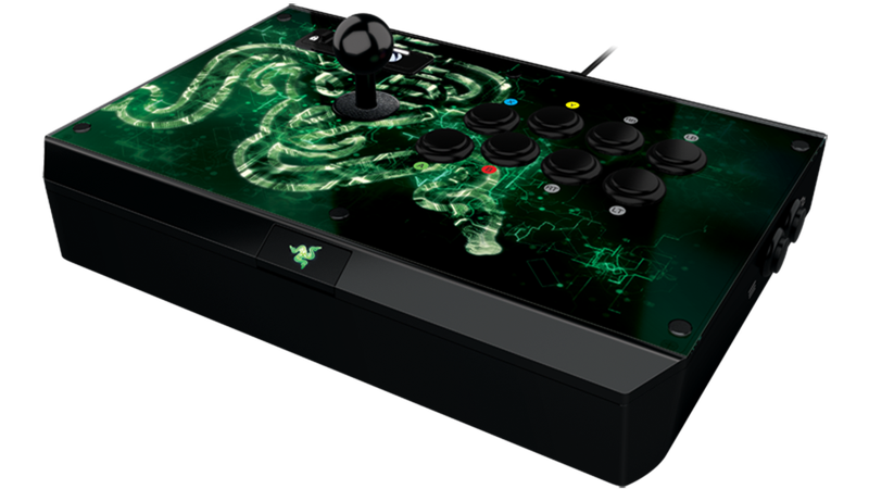 Illustration for article titled Xbox One Gets A $200 Razer Fighting Stick For All Those Fighting Games