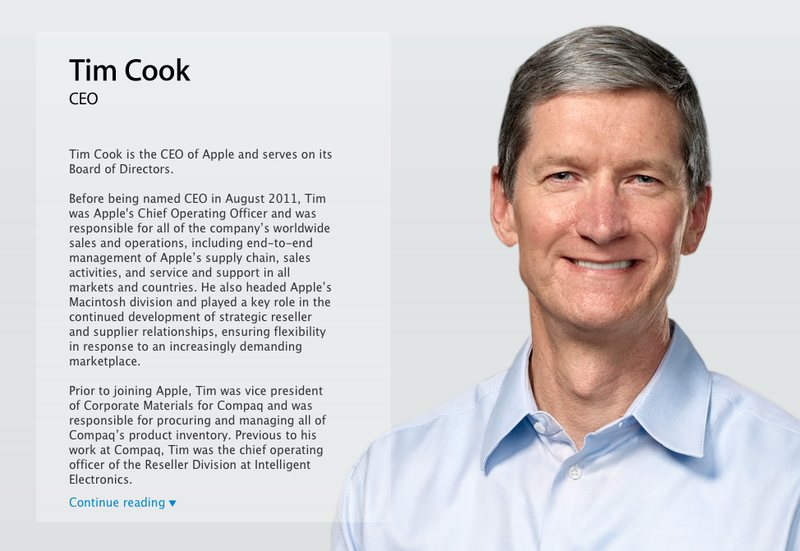 Illustration for article titled Apple CEO Tim Cook Made a Funny! (Updated)