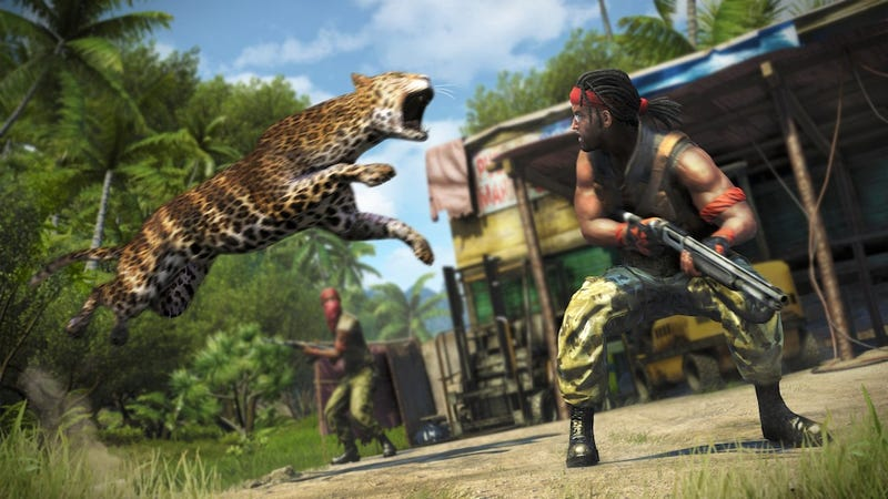 Illustration for article titled Holy Crap It's A Far Cry 3 Leopard Attack