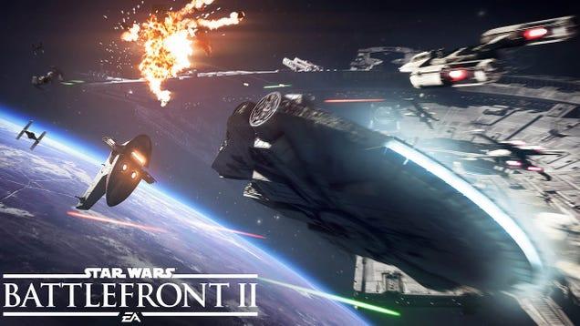 NewStar Wars Battlefront 2Trailer Shows Off Dazzling Space Battles