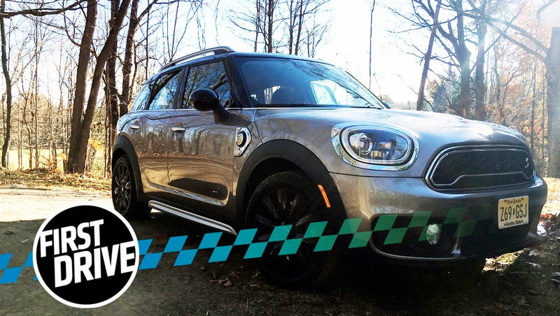 The 2018 Mini Countryman Plug In Makes A Case For Short Range Hybrids