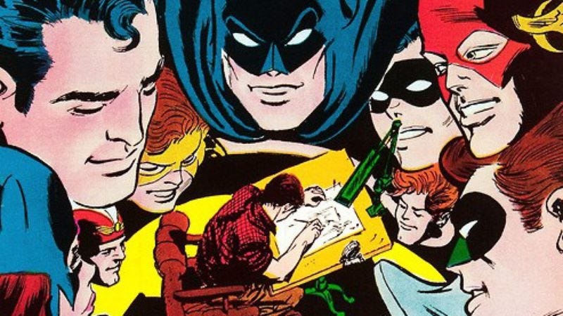 Illustration for article titled R.I.P. Carmine Infantino, a legendary force in comic books