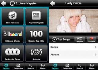 Illustration for article titled Napster's iPhone App Breaks Cover Despite Their Licensing Fees Concerns