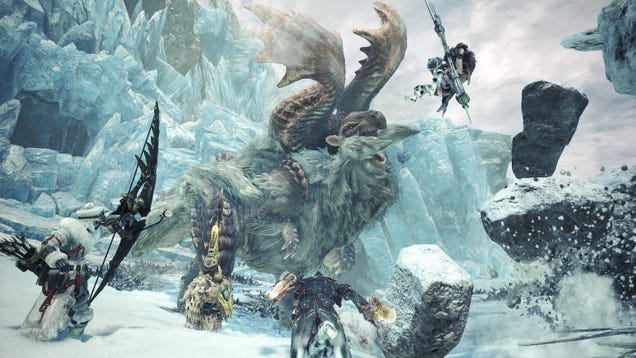 Image result for Monster Hunter World: Iceborne Is Deleting Some Player's PC Save Files
