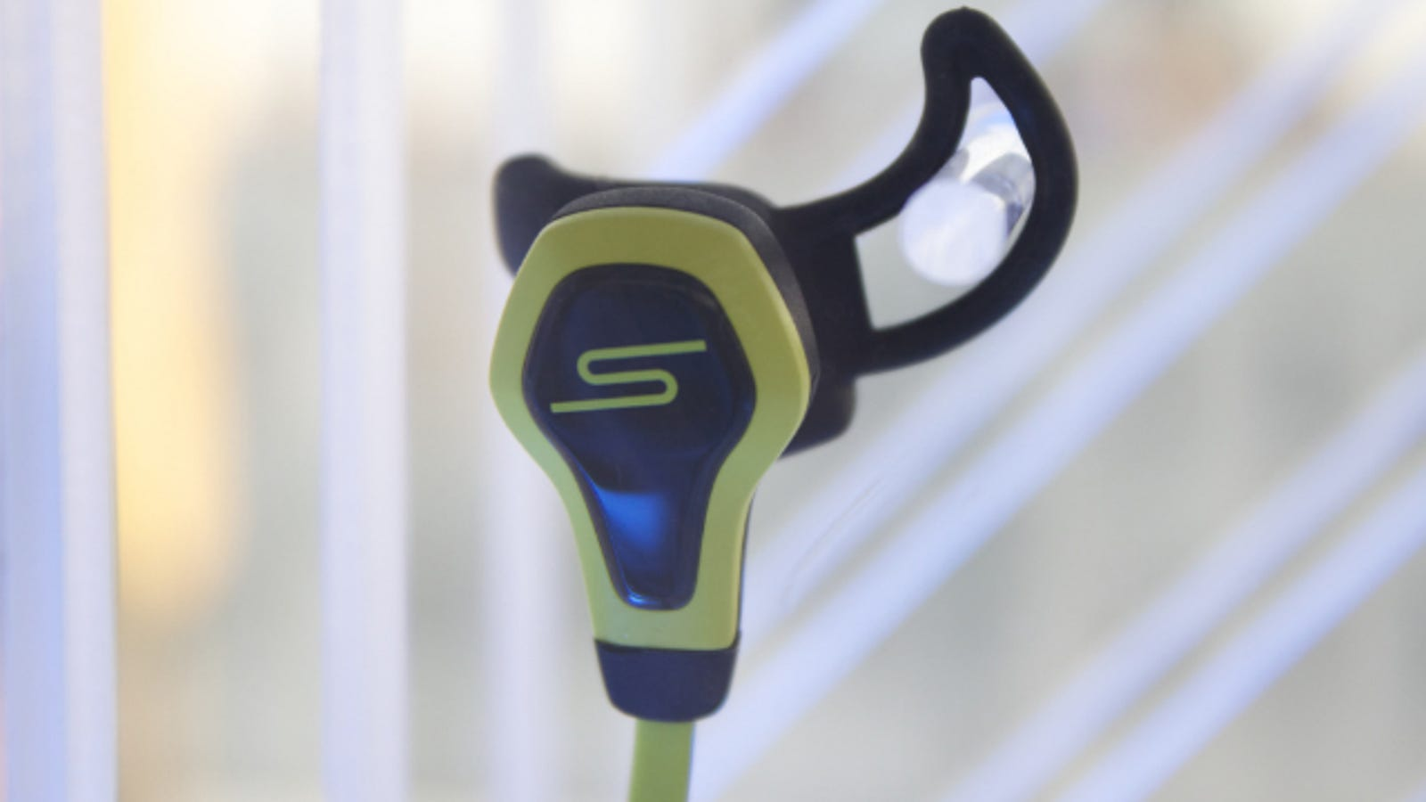 earphone wire fixer - BioSport Earbuds: Finally, A Fitness Tracker You Never Have to Charge