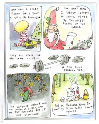Illustration for article titled Didn't Get Anything From Santa This Year? Here's Why