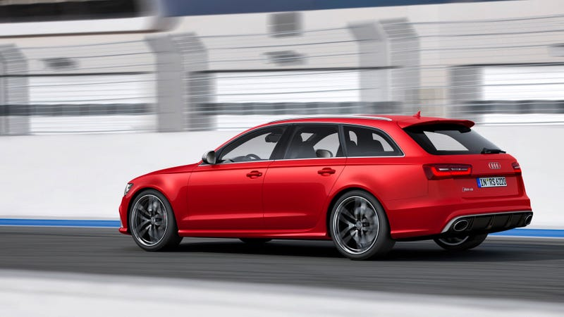 Illustration for article titled The Audi RS6 Avant: Aluminum Und Holy Hell