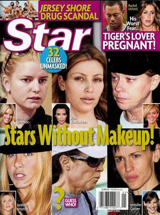 """Illustration for article titled This Week In Tabloids:  Angie's """"So Lonely"""" & The Jersey Shore Kids Are Injecting Tanner"""