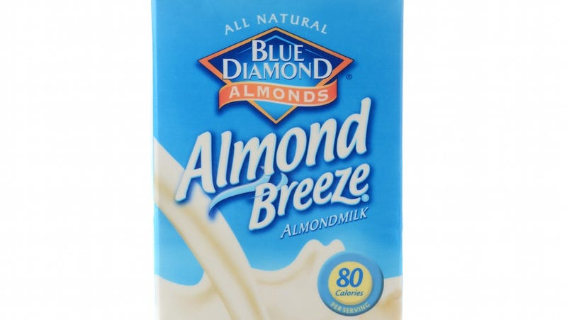Illustration for article titled Almond Breeze More Breeze Than Almonds, Says Lawsuit