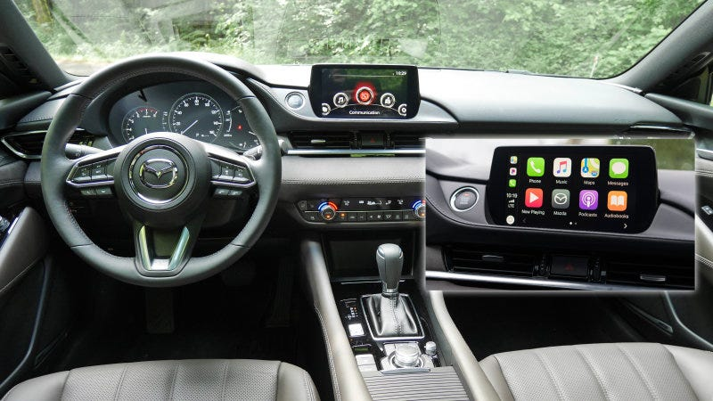 mazda released their carplay & android auto retrofit kit sooner