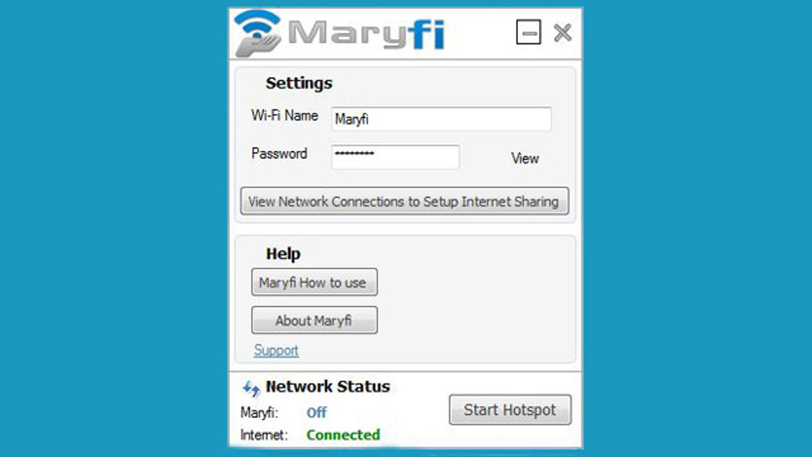 Maryfi Is a Free Software Router for Windows 7