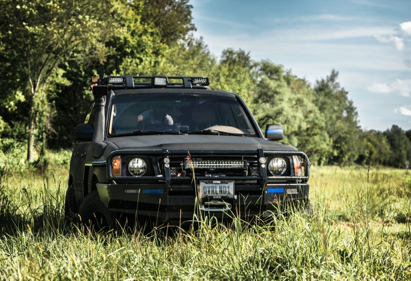 Your Sneaky Toyota Land Cruiser Wallpaper Is Here