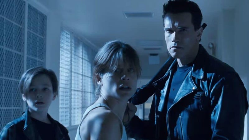 It's fitting my Terminator story is a family one.