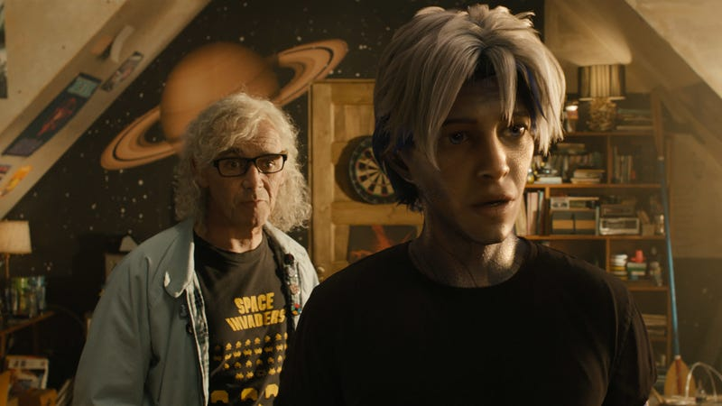 Parzival and Halliday in Ready Player One.