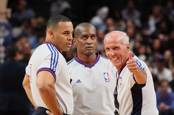 Illustration for article titled Economists Confirm That NBA Referees Are Biased