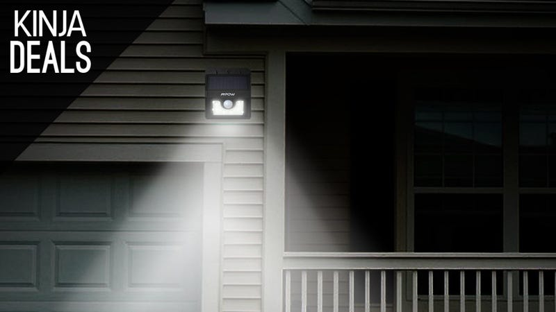 Illustration for article titled This Solar-Powered Porch Light is Just $14 Today