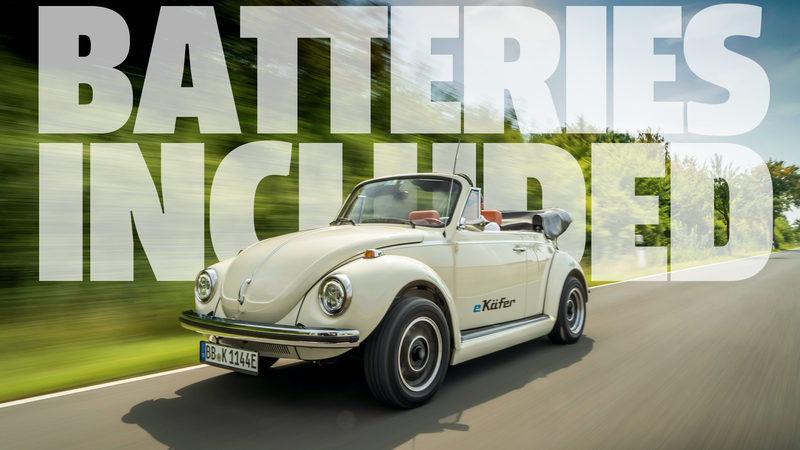 Illustration for article titled Volkswagen Will Now Convert Classic Beetles To Electric Power Which Is Maybe Even Better Than A New EV Beetle