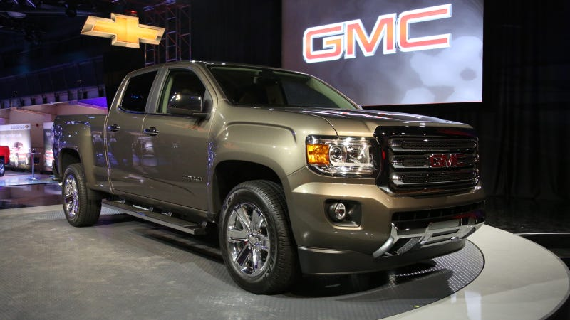 Illustration for article titled The 2015 GMC Canyon Is A Legitimate Tacoma Fighter