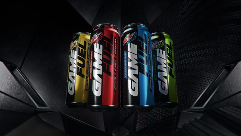 Illustration for article titled Mountain Dew launches energy drink for gamers