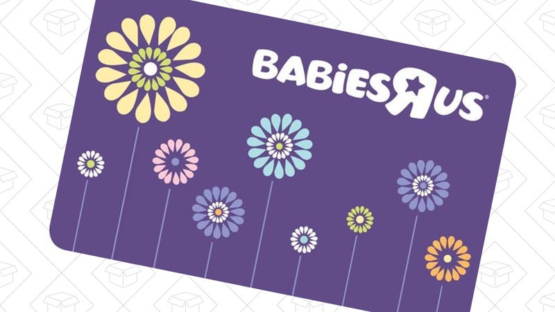 """$100 Toys """"R"""" Us/Babies """"R"""" Us Gift Card, $85"""