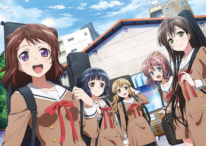 Illustration for article titled Enjoy the newest trailer for the OVA of BanG Dream!