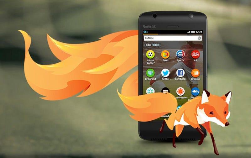 Mozilla creará smartphones Firefox OS de 25 dólares