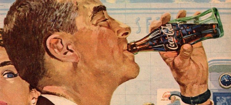 El origen del peculiar diseño de las botellas de Coca-Cola