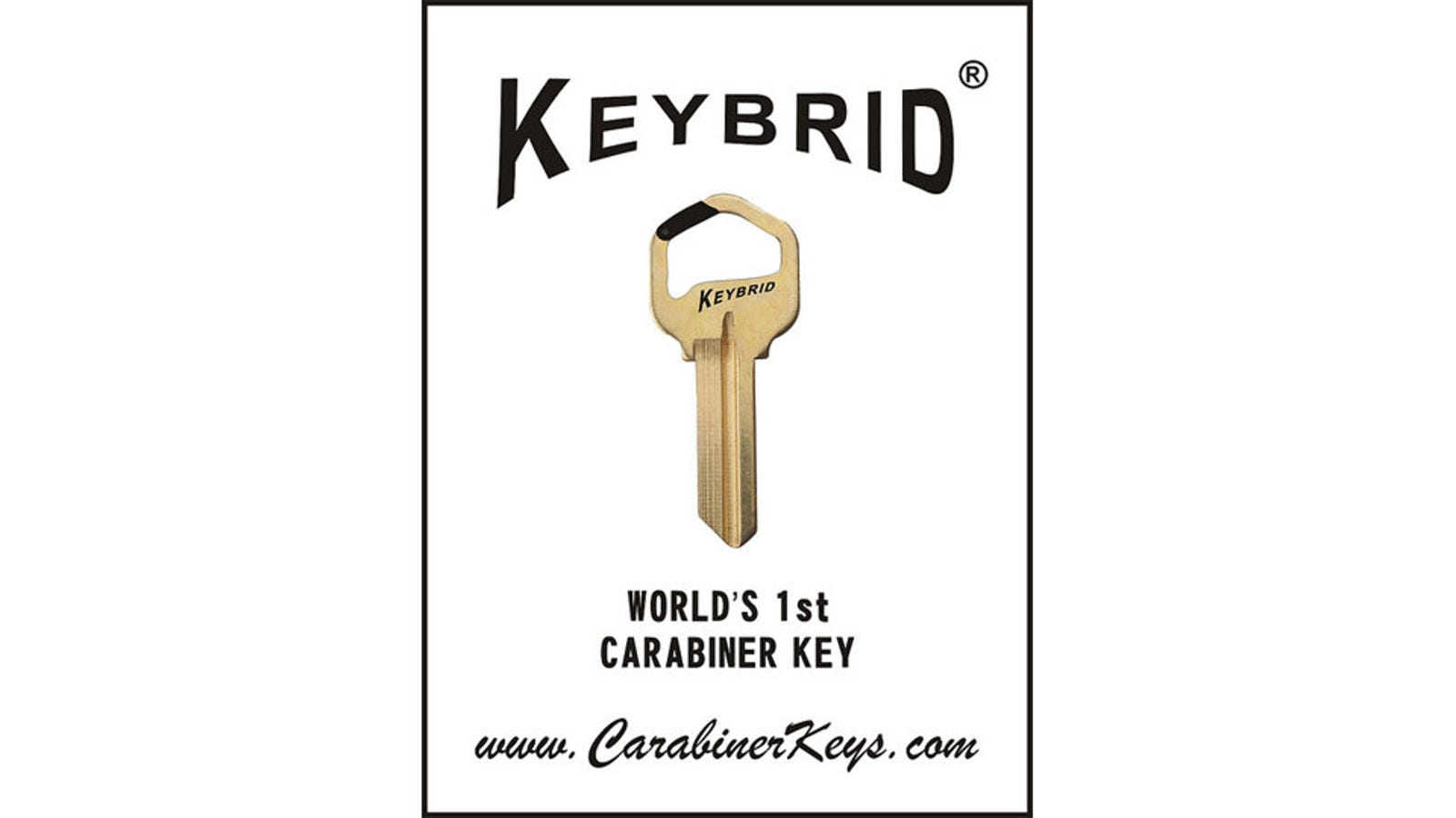 the carabiner key attaches to you  the outdoor enthusiast