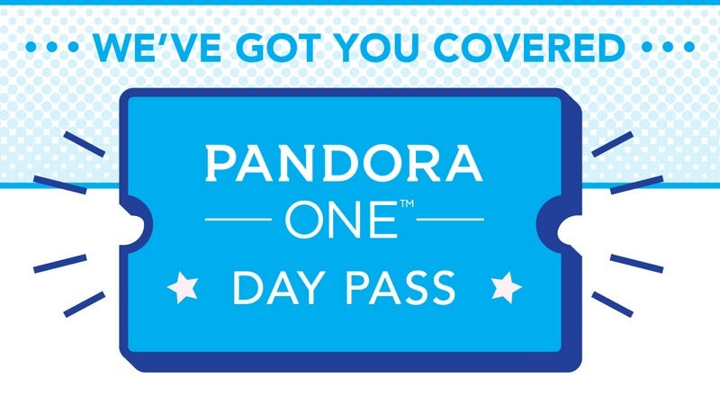 Illustration for article titled Pandora Will Let You Stream 24 Hours of Ad-Free Music for 99 Cents