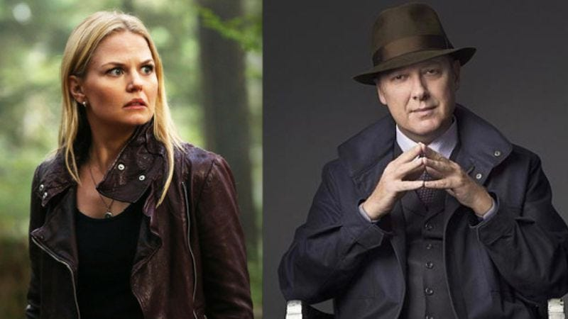 Illustration for article titled Once Upon A Time and The Blacklist are the most popular shows on Netflix