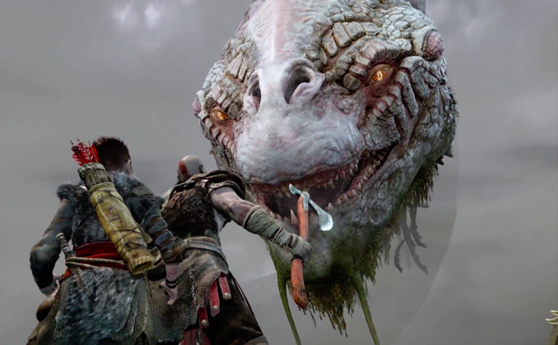 Sony Debut New God of War Trailer at E3