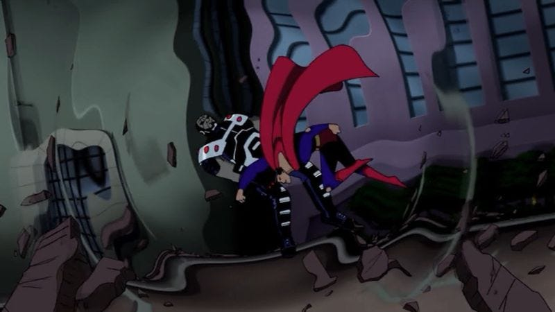 "Justice League Unlimited: ""Destroyer"""