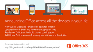 Illustration for article titled Microsoft Office Comes to iPhones, Android Preview Available, All Free
