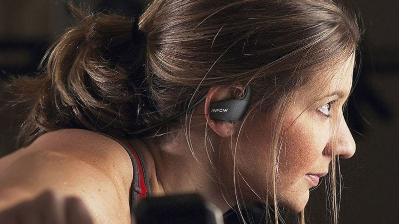 Mpow Antelope Bluetooth 4.1 Headphones, $15 with code 3CWT5J9H