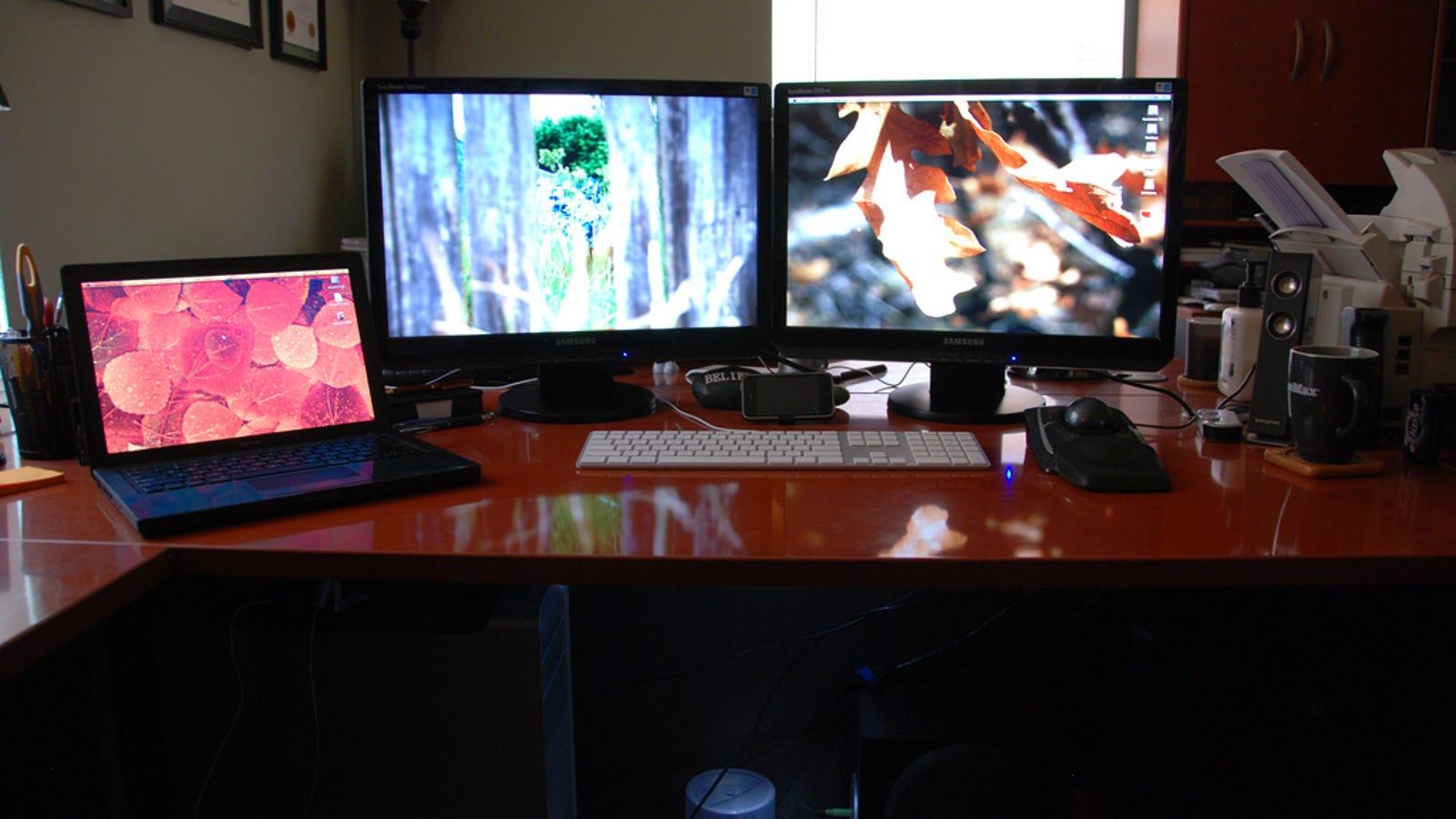 Home Office Dual Desk Setup: The Dual Workstation Home Office
