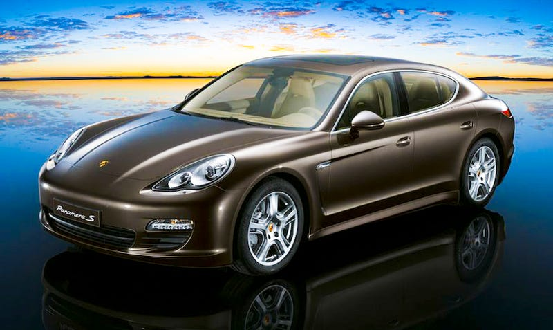 Illustration for article titled Cover Your Eyes: The Porsche Panamera Mega Gallery