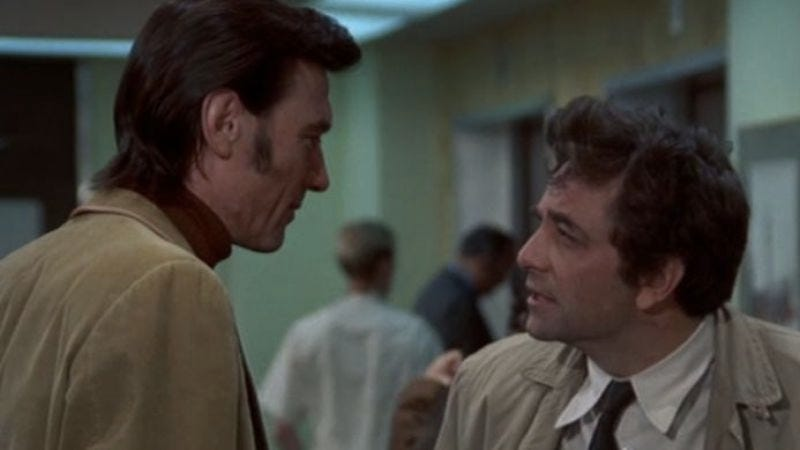 Illustration for article titled When Columbo's metaphorical chess match became literal