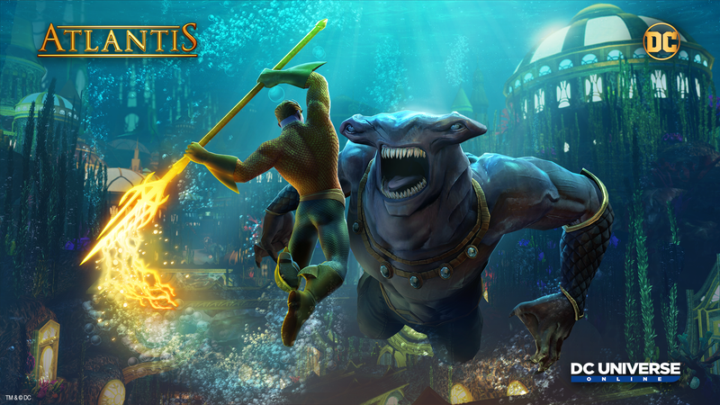 Illustration for article titled DC Universe Online's Atlantis Update Takes Players Under The Sea