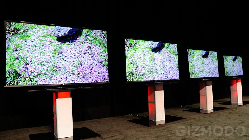 Illustration for article titled Sharp Would Like to Interest You in a Giant LED TV