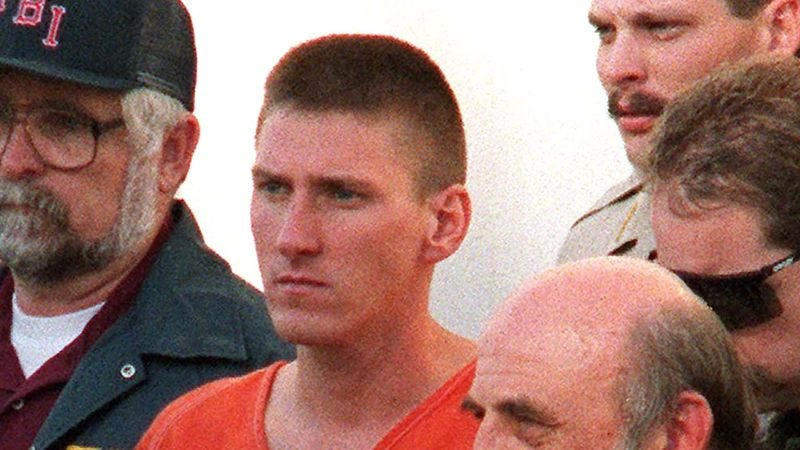 Illustration for article titled 5 Reasons Why Timothy McVeigh Should Not Be On A Stamp